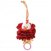Танцующая игрушка с кольцом курочка Офелия