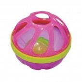 Мячик для ванной Розовый