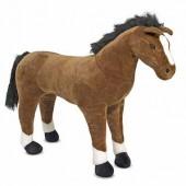 Гигантская плюшевая лошадь 1 м