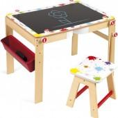 Стол трансформер 2 в 1 + стул