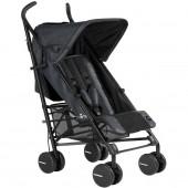 Прогулочная коляска-трость BO (black)