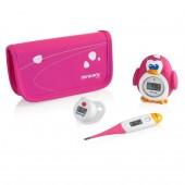 Комплект из 3 цифровых термометров Thermokit (розовый)