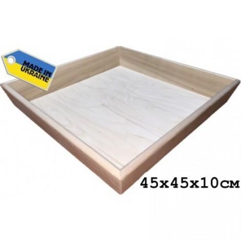 Деревянная песочница(средняя)  (арт. 195-003)