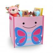 """Большая коробка для игрушек """"Бабочка"""""""