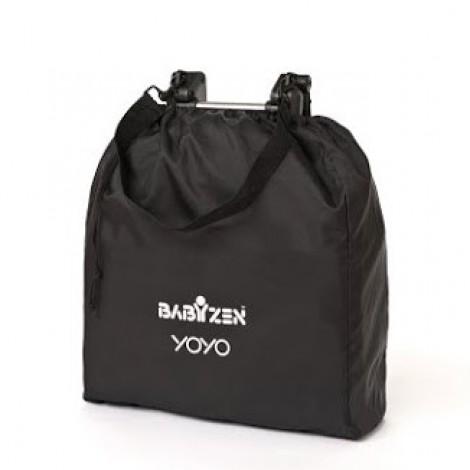 Коляска YOYO+ комплект 2 в 1 (0+ и 6+) розовый на черном шасси  (арт. 2221000000717)