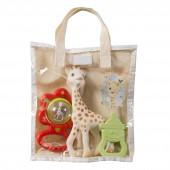 """Подарочный набор """"Жирафа Софи в сумочке"""""""