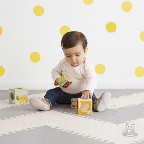 Игровой коврик-пазл  Playspot Grey/Cream  (арт. 245012)
