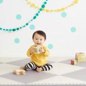 Игровой коврик-пазл  Playspot Grey/Cream