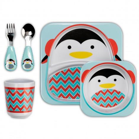 """Лимитированный набор посуды """"Императорский пингвинчик""""  (арт. 212509)"""