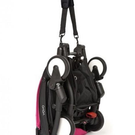Прогулочная коляска  YOYO+ 6+ (комплект розовый на белом шасси)  (арт. 2221000000533)
