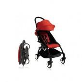 Прогулочная коляска  YOYO+ 6+ (комплект красный на черном шасси)