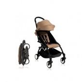 Прогулочная коляска  YOYO+ 6+ (комплект сафари на чёрном шасси)