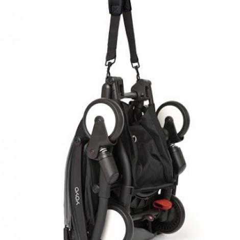 Прогулочная коляска  YOYO+ 6+ (комплект чёрный на чёрном шасси)  (арт. 2221000000687)