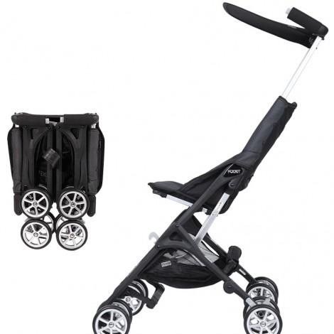 Прогулочная коляска Pockit Black