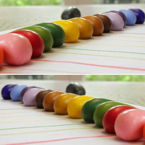 Восковые мелки (32 цвета)  (арт. CR16)