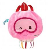 Мягкий рюкзак медуза Амели