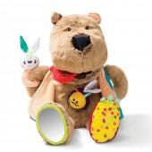 Развивающая игрушка медведь Цезарь
