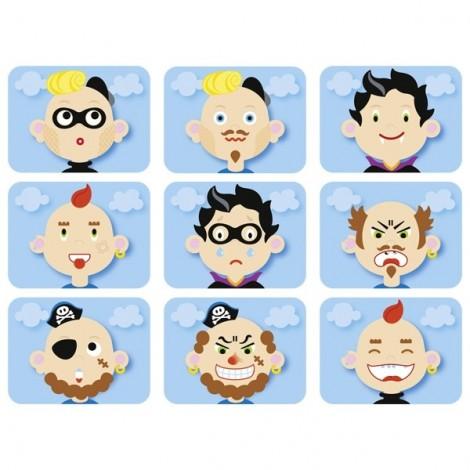 """Магнитная игра """"Funny faces boy""""  (арт. 58488)"""