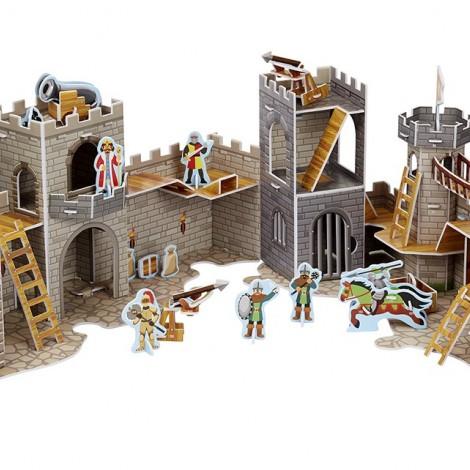 """3D пазлы """"Средневековый замок"""""""