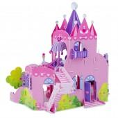 """3D пазлы """"Розовый замок"""""""
