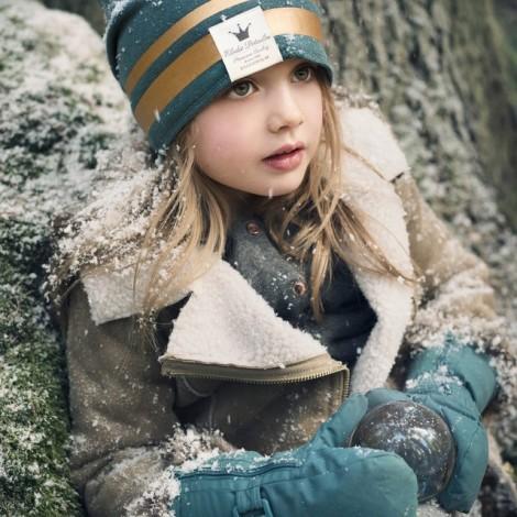 Детская шапка Gilded Petrol 6-12m