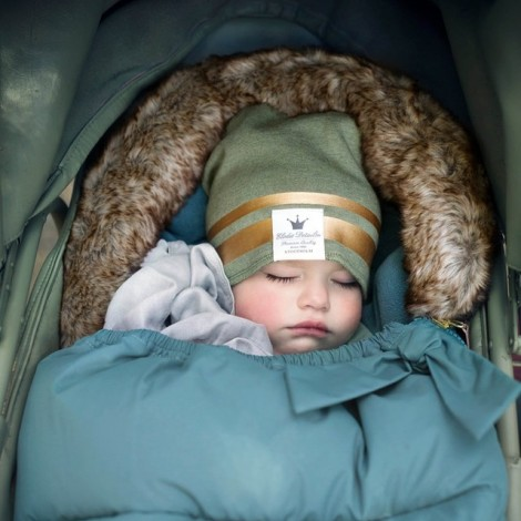 Детская шапка Gilded Green 12-24m