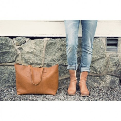 Сумка для коляски Chestnut Leather