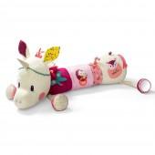 Большая развивающая игрушка-валик единорог Луиза