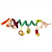Спиральная игрушка-подвеска собачка Джеф
