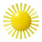 Игрушка Щетка-Солнце PLUI (9см)