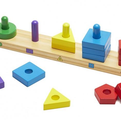 "Набор ""Пирамидки на платформе""  (арт. 10379)"