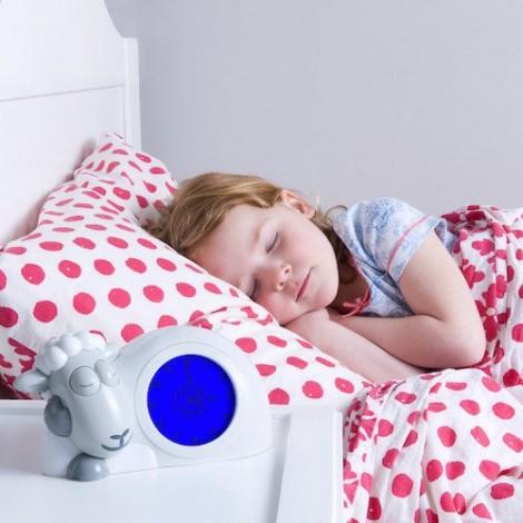 Тренер сна с ночником Ягненок Сэм (цвет серый)  (арт. ZA-SAM-01)