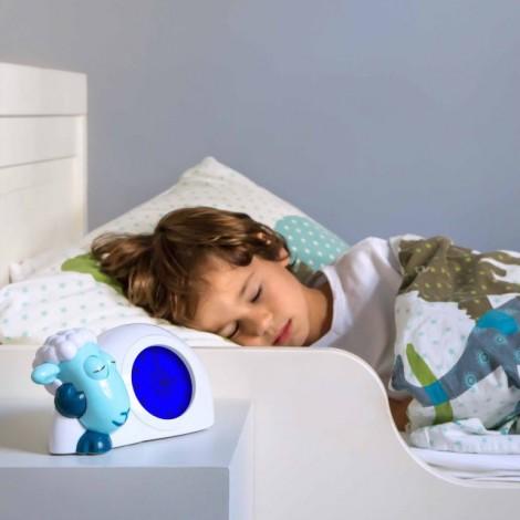 Тренер сна с ночником Ягненок Сэм (цвет синий)  (арт. ZA-SAM-02)