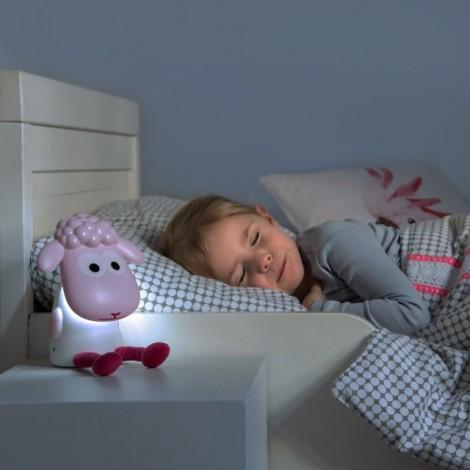 Детский светильник для чтения Барашек Фин (цвет серый)  (арт. ZA-FIN-01)