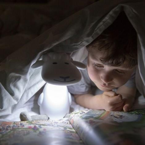 Детский светильник для чтения Барашек Фин (цвет голубой)  (арт. ZA-FIN-02)