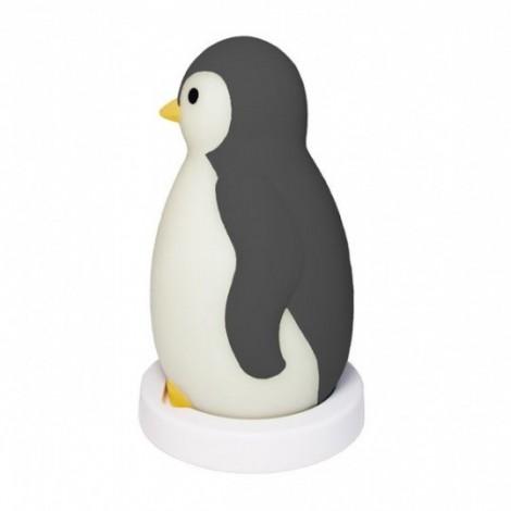 Светильник-ночник с автоматическим отключением Пингвиненок Пем, серый  (арт. ZA-PAM-01)