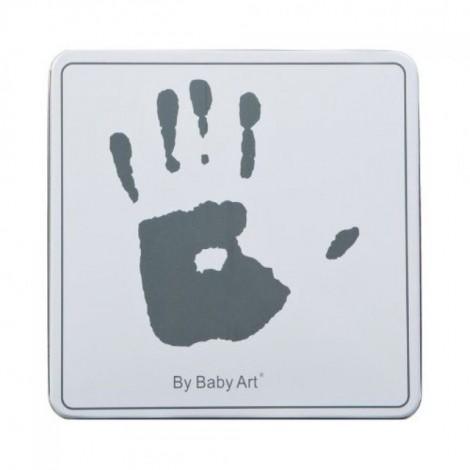 Отпечаток ручек и ножек в коробочке Magic Box White & Grey  (арт. 34120159)