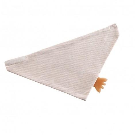 Слюнявчик-бандана с прорезывателем  (арт. 220121)