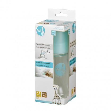 Бутылочка для кормления  MII из стекла, 230 мл  (арт. 450510)