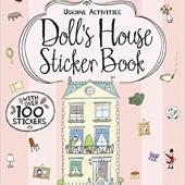 Usborne® Книга с наклейками Кукольный домик