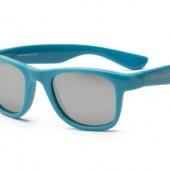 Детские солнцезащитные очки Koolsun Wawe голубые (Размер 3+)