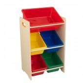 Стеллаж для игрушек Kidkraft 5 контейнеров