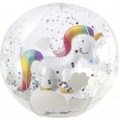 Детский пляжный мяч 3Д, Единорог, 32 см Sunny Life