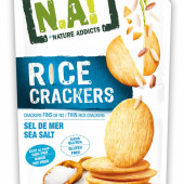 Крекер рисовый вкус морской соли, [N.A!], 70г