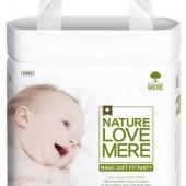 Подгузники-трусики детские Nature Love Mere, серия MAGIC SOFT FIT, размер XL, 20 шт [10-14 kg]