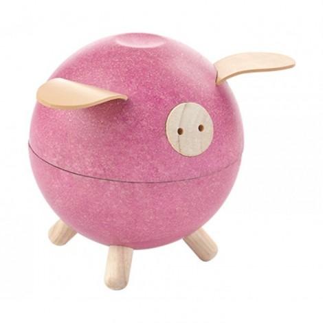 Свинка - копилка, розовая