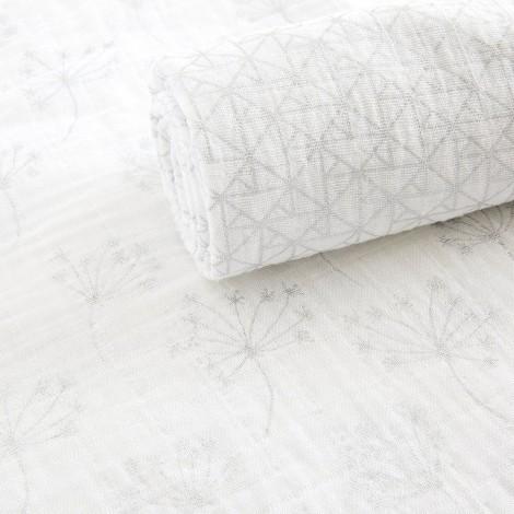 Набор муслиновых пелёнок Silver Deco (3 шт.)  (арт. AA-4506G)