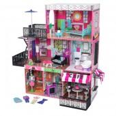 Интерактивный кукольный домик KidKraft «Brooklyn's Loft»