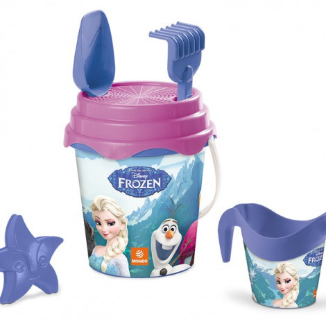 Детское ведерко с набором для песка Frozen, Mondo  (арт. 28194)