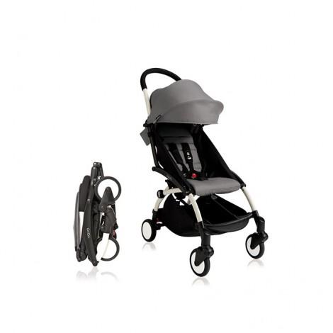 Прогулочная коляска BABYZEN YOYO Plus 6+ цвет Aqua шасси White  (арт. BZ10104-13)